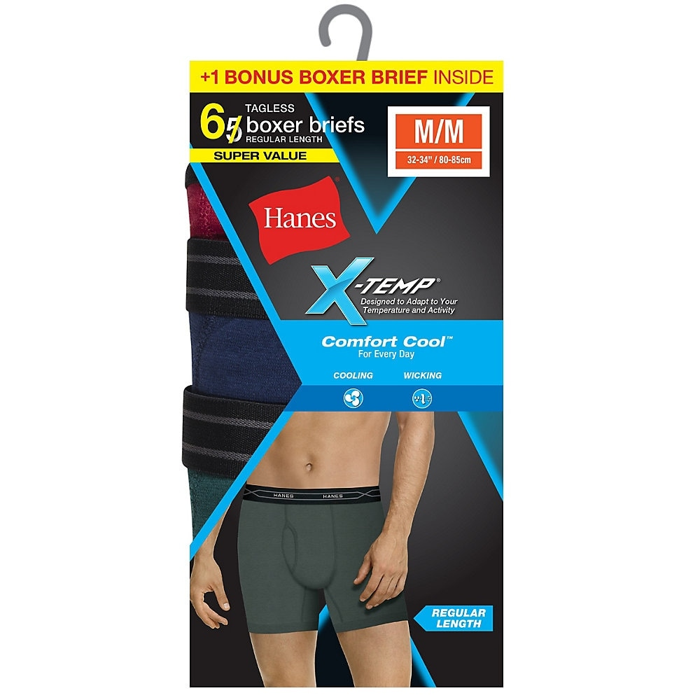 Hanes Ultimate Mens P5 Ultimate Breathable Brief-Assorted