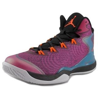 Nike Jordan Super.Fly 3 Round Toe Canvas Sneakers