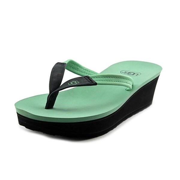 Ugg Australia Ruby   Open Toe Leather  Thong Sandal
