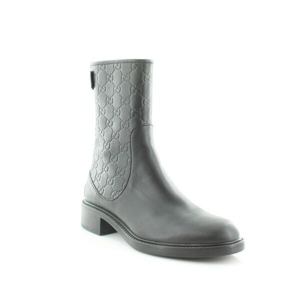 Gucci Maud Ankle Boot Women's Boots Nero/Nero - 9.5