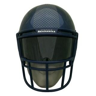 NFL Gear Helmet Style Fan Mask: Seattle Seahawks - Black