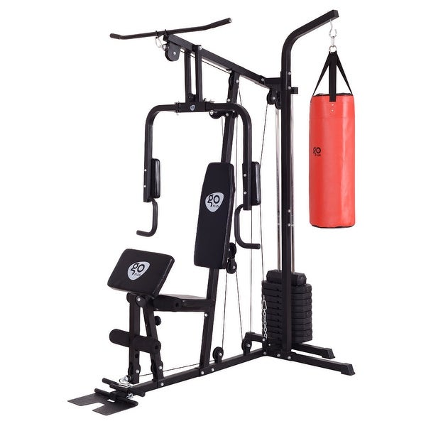 Shop goplus home gym chest press weight strength training