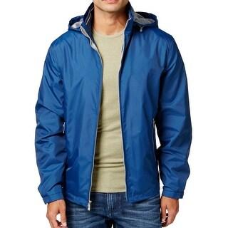 Weatherproof Blue Mens Size Large L Aqua Shed Windbreaker Jacket