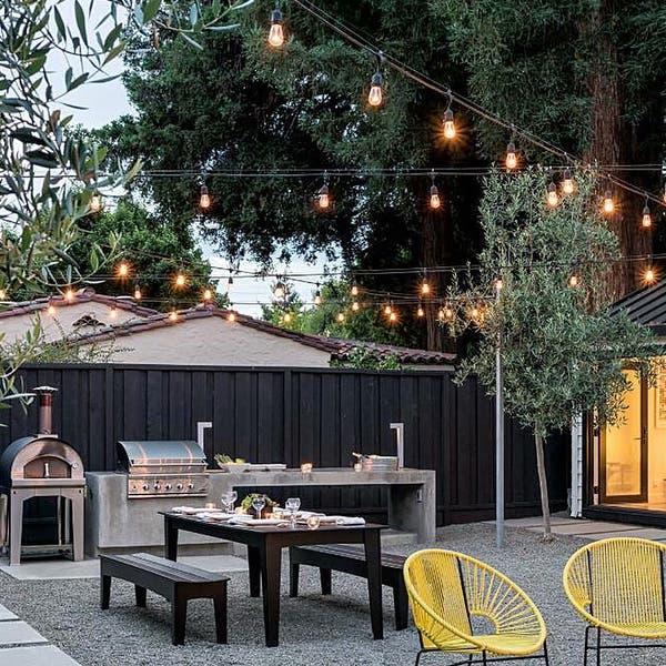 Shop 48ft 15 Led Outdoor Patio String Lights 2700k Soft