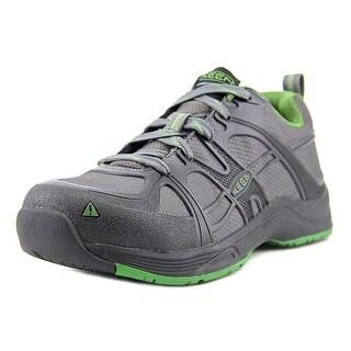 Keen Durham Aluminum Toe ESD Men 2E Round Toe Synthetic Gray Work Shoe