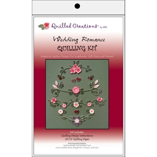 Quilling Kit-Wedding Romance