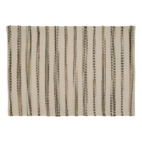 Placemats With Stripe Weave Design (Set of 4)