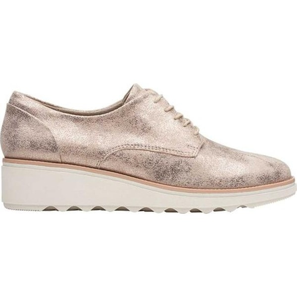 Sharon Crystal Oxford Pewter Suede
