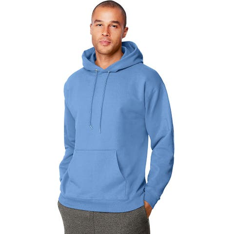 Hanes Menâs Ultimate Cotton® Heavyweight Pullover Hoodie