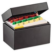 Index Card File Holds 300 3 x 5 cards  5 3/4 x 3 5/8 x 4
