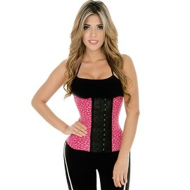 Fiorella Shapewear Sports Latex Waist Cincher Trainer Corset Animal Print Fajas Cinturilla Deportiva Reductoras Colombianas