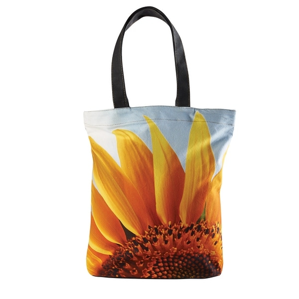 ab63169d8f88 Shop Catalog Classics Big Bloom Canvas Tote Bag - Oversized Sunflower Print  Handbag - On Sale - Free Shipping On Orders Over  45 - Overstock.com -  21260410