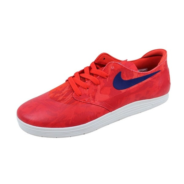 Nike Men's Lunar Oneshot SB WC Light Crimson/Deep Royal Blue 645019-604
