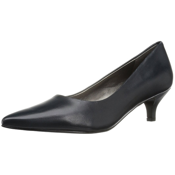 Trotters Womens Paulina Leather Pointed Toe Classic Pumps