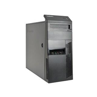 Lenovo ThinkCentre M78 A4-5300B 3.4GHz CPU 4GB RAM 250GB HDD Windows 10 Pro Minitower PC (Refurbished)