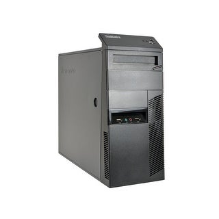 Lenovo ThinkCentre M78 A4-5300B 3.4GHz CPU 4GB RAM 250GB HDD Windows 10 Pro Minitower PC (Refurbished)