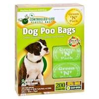 Green-n-Pack Dog Poo Bags - 200 Pack Waste Bags