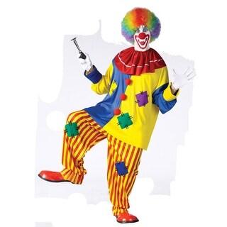 Big Top Clown Funny Circus Joker Adult Halloween Costume - standard - one size