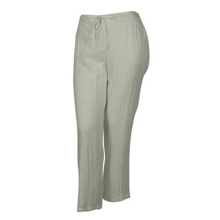 Charter Club Women's Lined Drawstring Pants