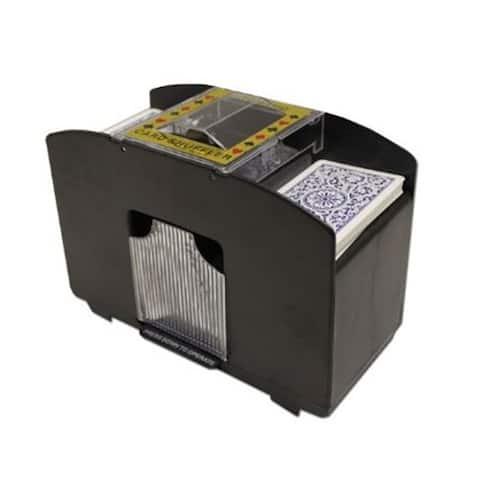 4 Deck Playing Card Shuffler - 8.50x4.50x5.25 in.