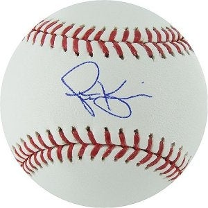 Scott Kazmir signed Rawlings Official Major League Baseball (Oakland A's)