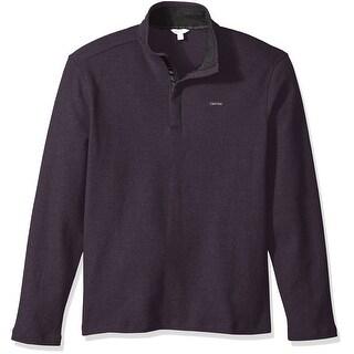 Calvin Klein NEW Vesper Purple Mens Size Small S 1/2 Zip Jacket