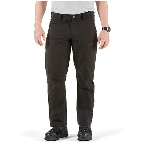 5.11 Men's Apex EDC Pants, Black, 34W x 32L