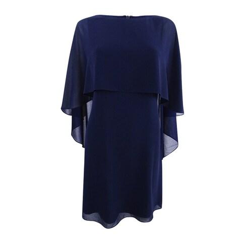 Vince Camuto Women's Capelet Shift Dress