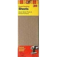 "3M 9012NA Power Sanding Sheets, 4-1/2"" x 11"""