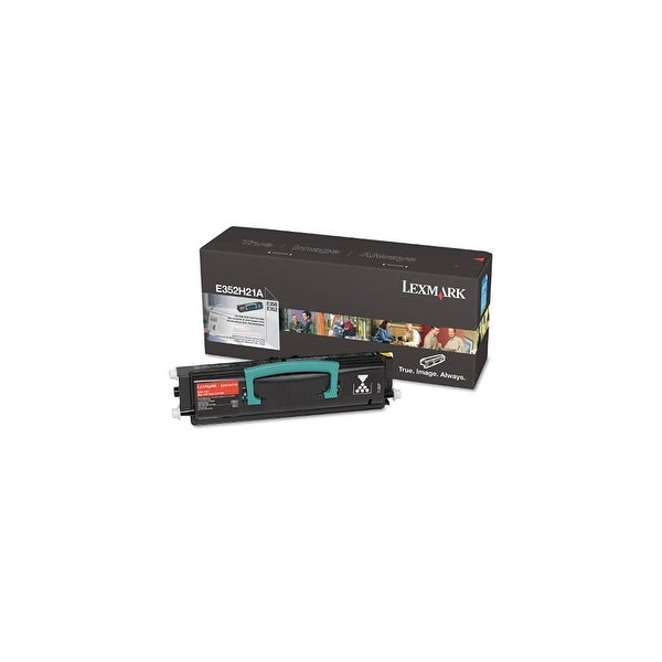 Lexmark E352H21A Black High Yield Toner Cartridge For E350d / E352dn - 11000 Pages