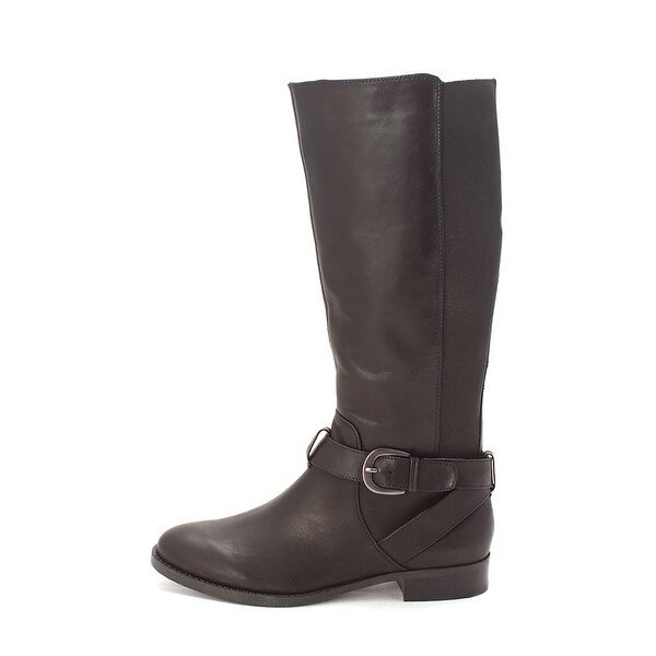 BCBGeneration Womens FETRAH Leather Closed Toe Knee High Fashion Boots - 9.5