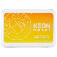 OMBRE-AF328 Hero Arts Ombre Ink Pad, Yellow To Orange