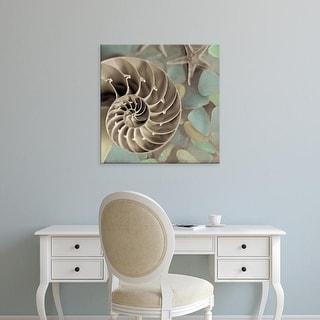 Easy Art Prints Alan Blaustein's 'Crystal Harbor #14' Premium Canvas Art