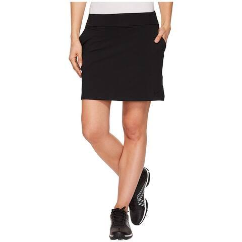 NIKE Women's Dry Golf Skort, Black/Black, Medium, Black/Black, Size Medium