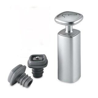 Metrokane W5405 Wine Preserver Vacuum Pump With Two Stopper