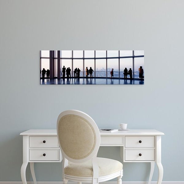 Easy Art Prints Panoramic Images's 'Observation Deck In The Roppongi Hills Tower, Tokyo, Japan' Premium Canvas Art