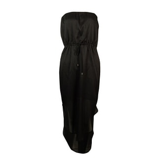 Bar III Women's Strapless Waist Tie Dress - s