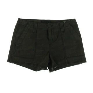Sanctuary Womens Denim Camouflage Cutoff Shorts