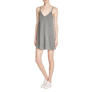 NYTT Womens Casual Dress Heathered Knee-Length