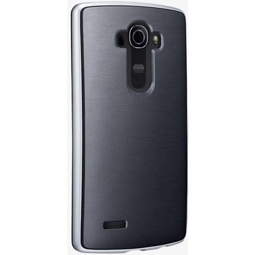 Verizon Soft Cover Bumper Case for LG G4 - Black/Silver