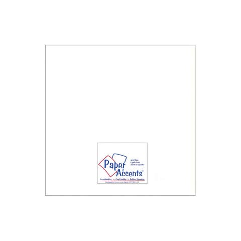 Paper Pearlized 12x12 80lb White 5pc