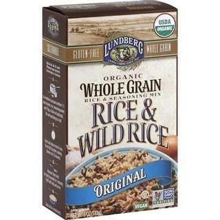 Lundberg Family Farms - Original Whole Grain Wild Rice ( 6 - 6 oz bags)