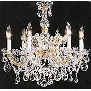 "Maria Theresa Chandelier Crystal Lighting Chandeliers H 20"" W 22"" - 14"