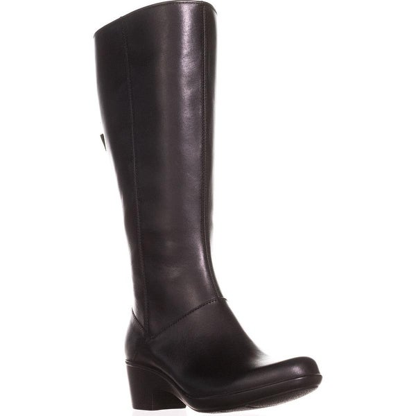 f031c3955d75 Shop Clarks Malia Skylar Wide Calf Riding Boots
