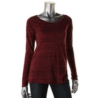Alternative Apparel Womens Long Sleeves Heathered Pullover Top