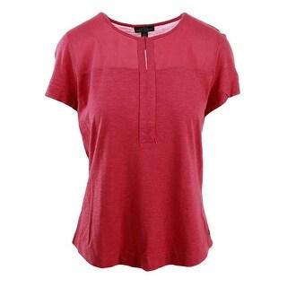 Lauren Ralph Lauren Womens Modal Short Sleeves T-Shirt