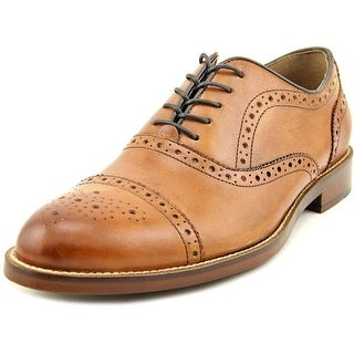 Aston Grey Collection Kobe Cap Toe Leather Oxford