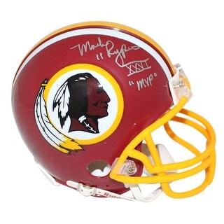 Mark Rypien AutographedSigned Washington Redskins Mini Helmet SB MVP JSA