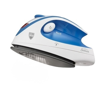 Sunbeam Hot-2-Travel Iron - Blue/Whiteite - GCSBTR-100-000
