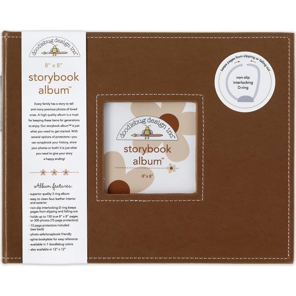 """Doodlebug Storybook Album 8""""X8""""-Bon Bon"""